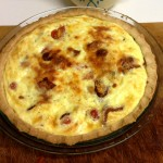 ... and it became a quiche!
